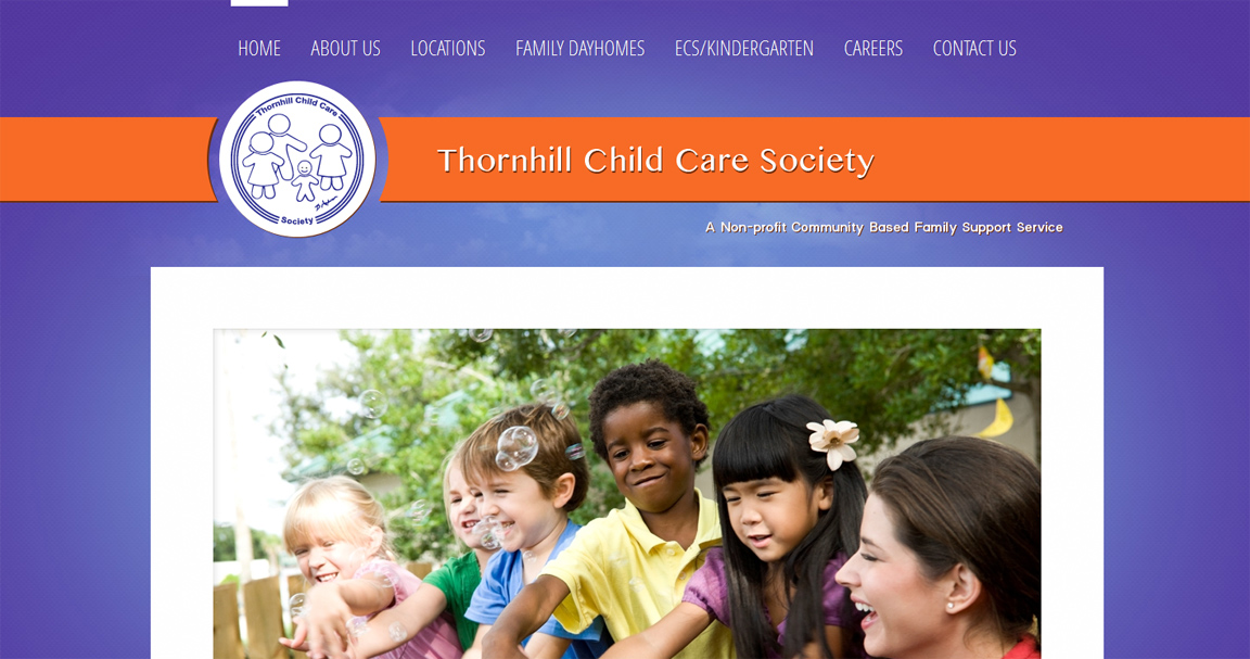 Site Internet de Thornhill Child Care