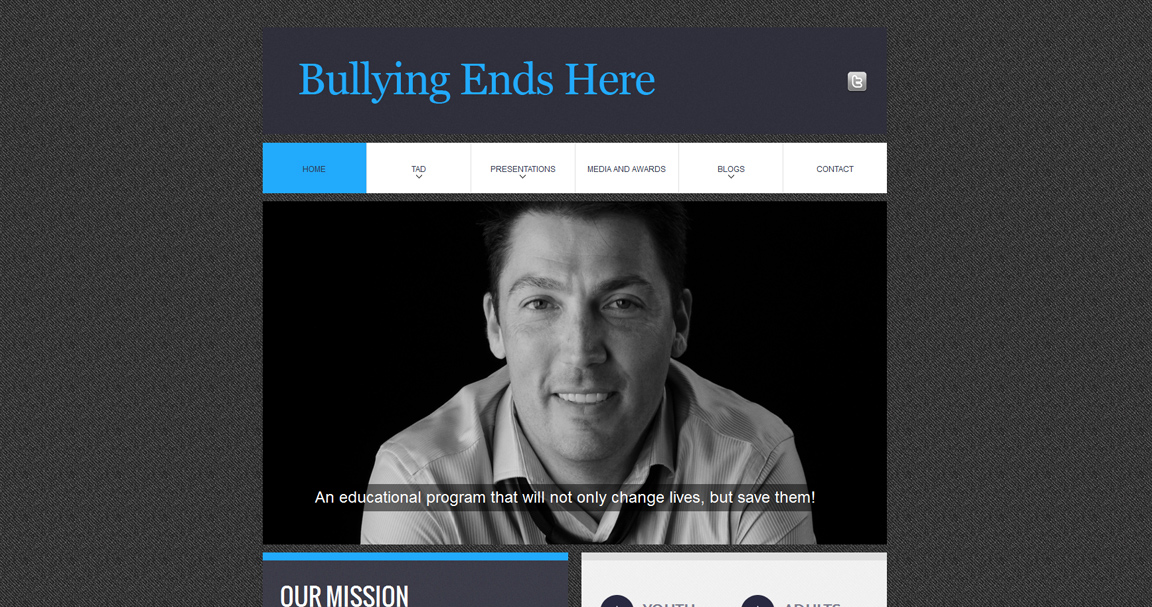Bullying Ends Here Website