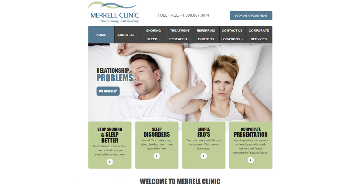 Merrell Clinic Website