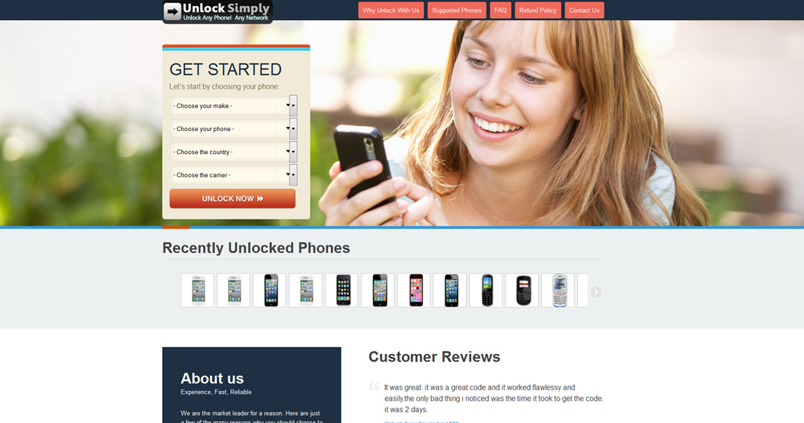 Unlock Simply Website
